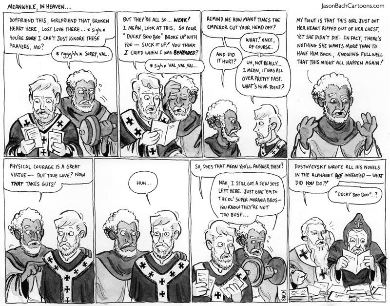 Jason Bach Cartoons